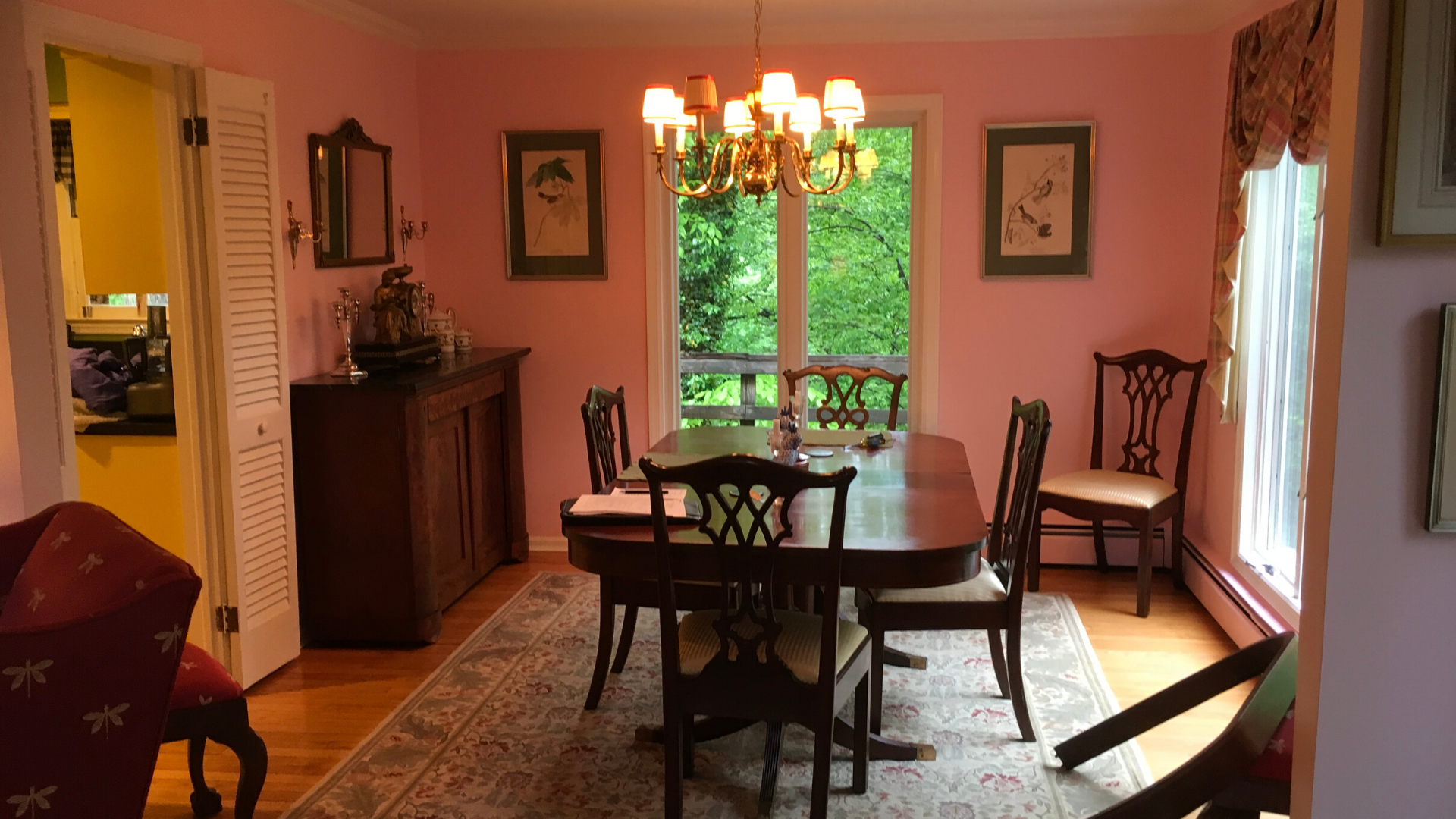 Cypress - Dining - Occupied Staging