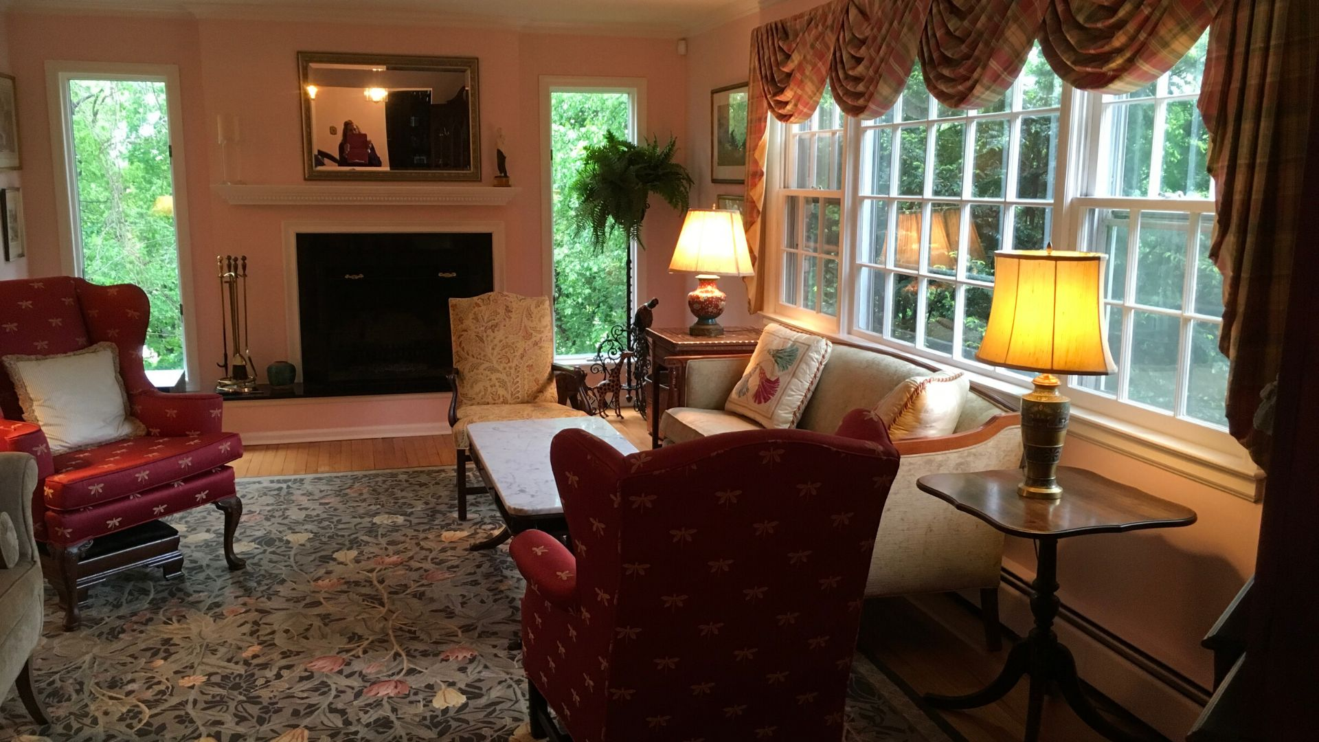Cypress - Living Rm - Occupied Staging